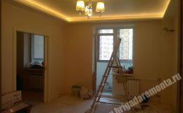 Фото ремонта под ключ квартиры на Богатырском
