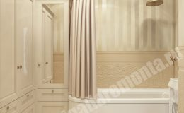 Фото ремонта ванной квартиры на Ленсовета