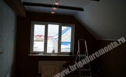 Ход ремонта коттеджа в Новой Ижоре