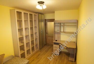 Фото ремонта в процессе в квартире на улице Софьи Ковалевской