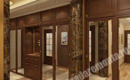Концепт отделки прихожей комнаты от Бригады Ремонта