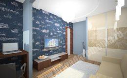 Концепт ремонта гостиной от БригадыРемонта