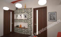 Концепт ремонта гостиной в квартире на Московской