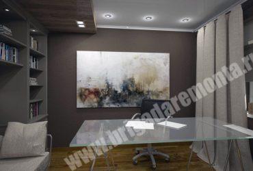 Отделка комнат в коттедже от компании Бригада Ремонта
