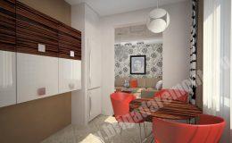 Концепт ремонта кухни от компании Бригада Ремонта