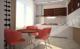 Концепт ремонта кухни в квартире на Морской наб.