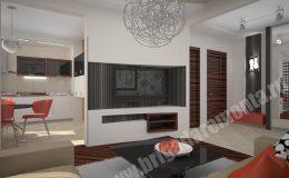 Концепт ремонта квартиры на Морской наб.