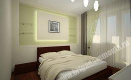 Концепт ремонта спальни в квартире на Московской