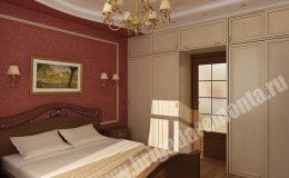 Концепт ремонта спальни в квартире на Съезжинской