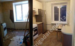 Косметический ремонт кухни в квартире на ул. Софьи Ковалевской