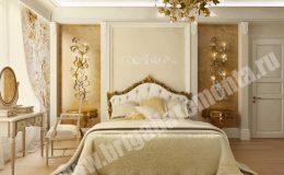 Косметический ремонт спальни в квартире на Парадной