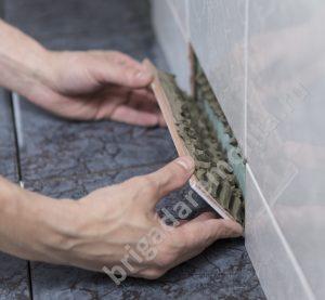 Материалы для ремонта,укладка плитки,руки мастера