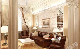 Отделка комнат в квартире на Пестеля