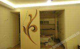 Отделка стен в квартире на Коломяжском пр.