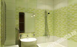 Отделка ванной в квартире на Ленинском пр.