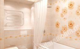 Отделка ванной комнаты от Бригады Ремонта