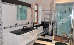 Отделка ванной комнаты в коттедже в Репино