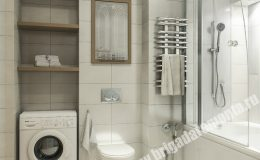 Отделка ванной комнаты в квартире на Итальянской