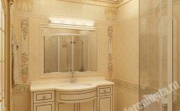 Отделка ванной комнаты в квартире на Мира