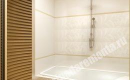 Отделка ванной в квартире на Коломяжском пр.
