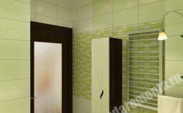 Ремонт ванной комнаты в квартире на Ленинском пр.