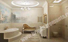Отделка ванной в квартире на Парадной