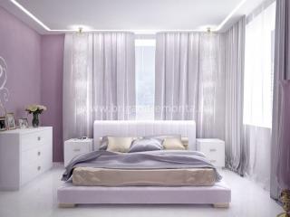 Отделочные работы в спальне квартиры на Васенко