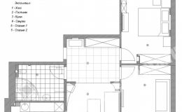 План квартиры на Морской наб. для ремонта