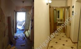 Процесс и результат ремонта квартиры от БригадыРемонта
