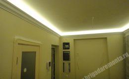 Работа со светом в квартире на Коломяжском пр.