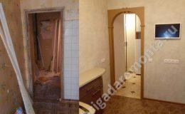 Ремонт дверных проемов, в квартире на Софьи Ковалевской