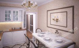 Ремонт и отделка кухни в квартире на ОптиковРемонт и отделка кухни в квартире на Оптиков