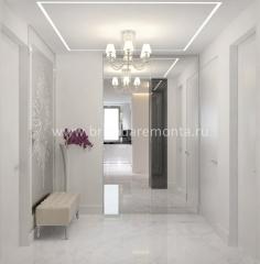 Ремонт и отделка прихожей комнаты в квартире на Васенко
