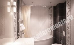 Ремонт и отделка ванной в квартире на Планерной