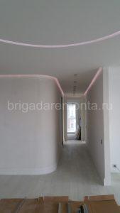 коридор, подсветка в коридоре,дизайн коридора