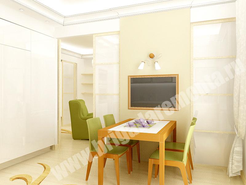 Ремонт кухни в квартире на Коломяжском пр.