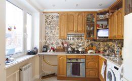 Ремонт кухни в квартире на Ленсовета