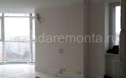 ремонт квартиры,место под телевизор, подсветка в потолке гкл, сборка перегородки