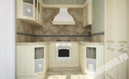 Ремонтные работы в кухне квартиры на Итальянско