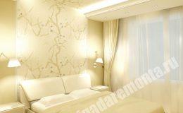 Ремонт спальни в квартире на Коломяжском пр.