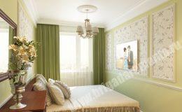 Ремонт спальни в квартире на Ленсовета