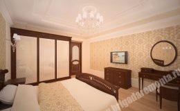 Ремонт спальни в квартире на Вавилова