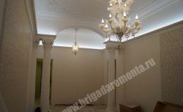 Ремонт стен и потолков в процессе в квартире на Пестеля