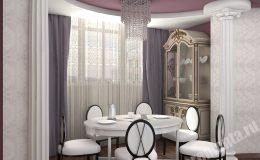 Ремонт столовой комнаты в в квартире на Детской