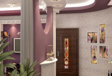 Отделка и монтаж конструкций из гипсокартона в квартире на Детской