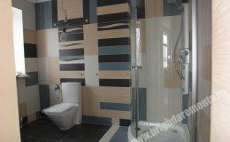 Ремонт ванной комнаты в коттедже в Вартемягах