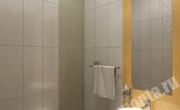 Ремонт ванной в квартире на Ленинском пр.
