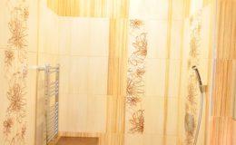 Ремонт ванной комнаты коттеджа в Репино