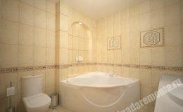 Ремонт ванной комнаты в квартире на Вавилова
