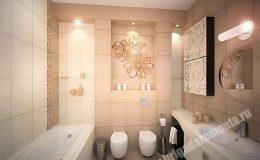 Ремонт ванной в квартире на Звездной